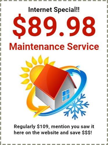 Maintenance Special Deal